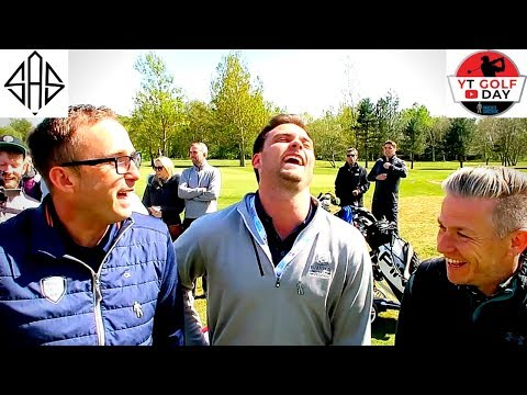 MY MORNING OF THE YOUTUBE GOLF DAY - Meeting Everyone