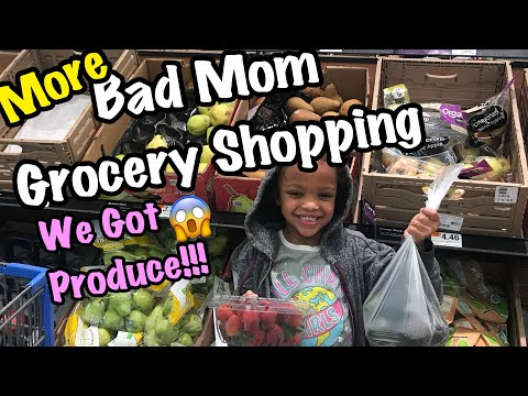 Grocery Shopping | BAD MOM STYLE 😱😂😂 9/22/18