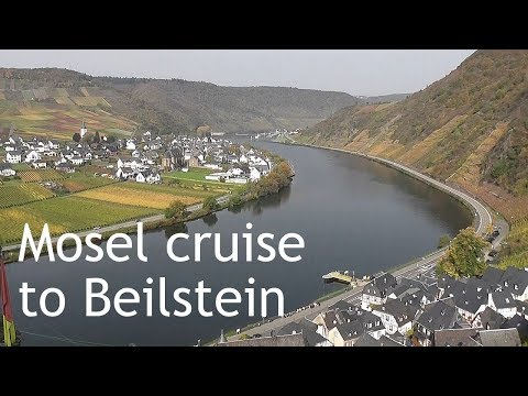 GERMANY: Mosel river cruise to Beilstein village (from Cochem) HD