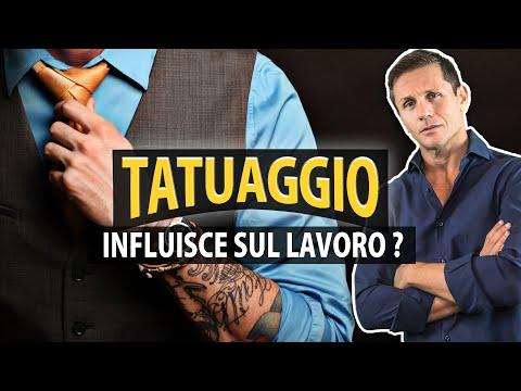 Un TATUAGGIO può influire nella ricerca di un lavoro?   avv. Angelo Greco
