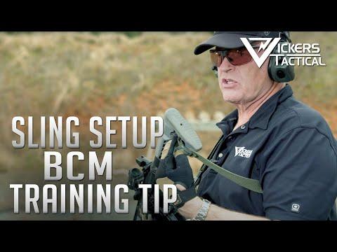 BCM Training Tip - Sling Setup