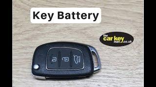 Sostituire batteria chiave Hyundai IX35