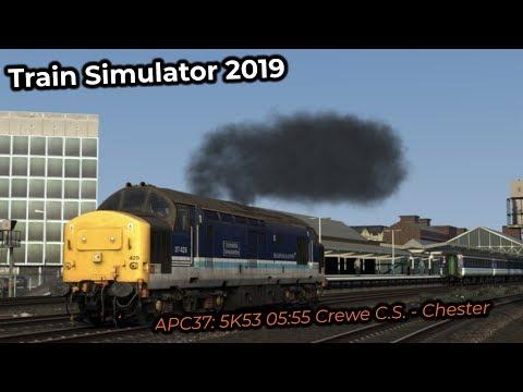 APC37: 5K53 05:55 Crewe C.S. - Chester -- Livestream 14/04/2019