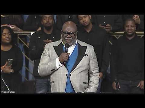 Joint New Year's Revival 2019, Bishop T.D. Jakes