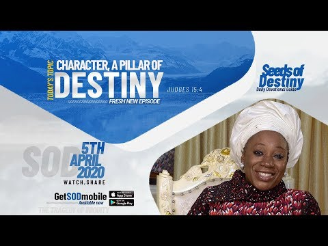 Dr Becky Paul-Enenche - SEEDS OF DESTINY  SUNDAY APRIL 5, 2020.