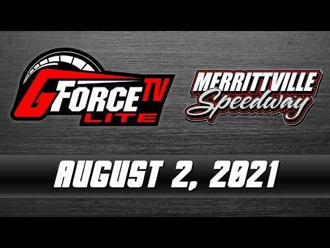 GForceTV Lite - Merrittville Speedway - August 2, 2021 - dirt track racing video image