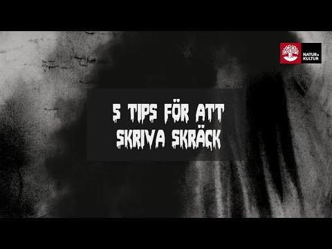 5 tips för att skriva en skräcknovell