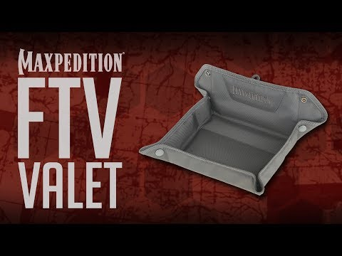 MAXPEDITION Advanced Gear Research FTV Folding Travel Valet