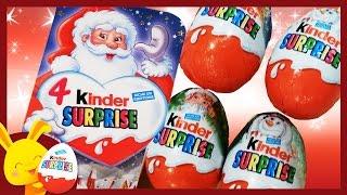 Kinder surprise - Oeufs surprises de Noël pour les enfants - Titounis