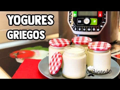 YOGURT GRIEGO THERMOMIX + OLLA GM