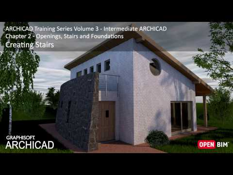 Creating Stairs - ARCHICAD Training Series 3 – 19/52