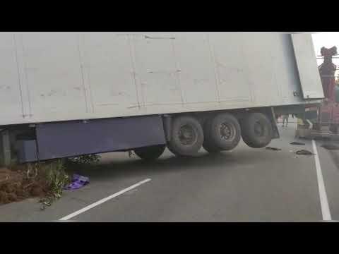 Авария с фурой 8 августа