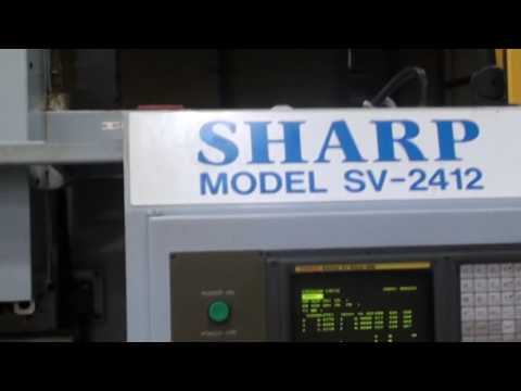USED SHARP SV-2412 MINI MILL CNC VERTICAL MACHINING CENTER -  TK 19497