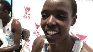 Agnes Tirop Happy With Runner-Up Finish At Peachtree Road Race