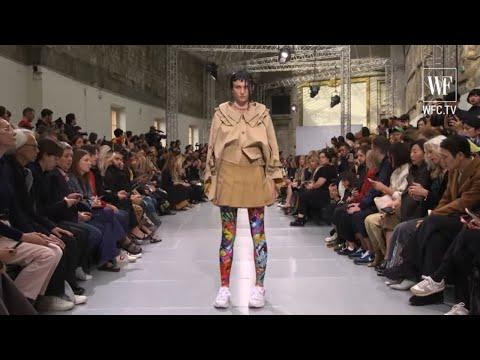 Junya watanabe spring-summer 2020 Paris fashion week
