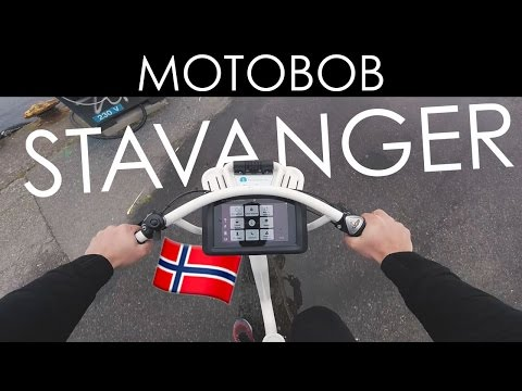Stavanger Street Art Tour On A GoBike Electric Bicycle