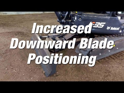 R-Series Excavators: Increased Angle Blade Positioning