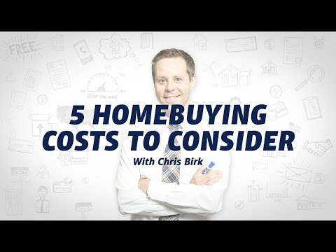 Upfront Costs You Can Expect to Pay with Homeownership