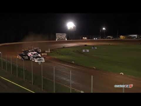 Crate Racin' USA   Dirt Late Model Heats 1-4   Modoc Raceway - dirt track racing video image