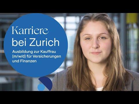Karriere bei Zurich: Ausbildung zur Kauffrau (m/w/d) für Versicherungen und Finanzen