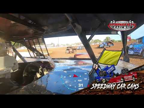 #-7 Kynsey Collins - Midwest Mod - 9-18-2021 Springfield Raceway - In Car Camera - dirt track racing video image