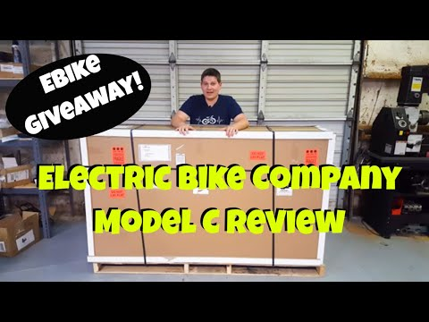 Electric Bike Company Model C:  Review and Give Away!