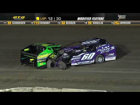 Lebanon Valley Speedway | Modified Feature Highlights | 8/21/21 - dirt track racing video image