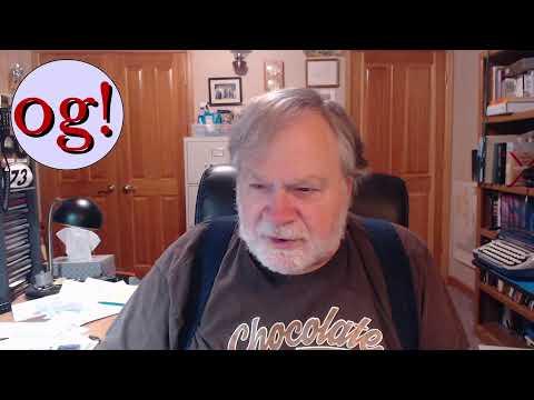 KE0OG Dave Casler Live Stream 3 Dec 2020