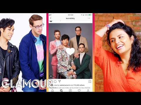 The Try Guys Hijack a Stranger's Phone | Glamour