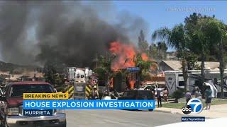 Murrieta explosion: Authorities provide latest update | ABC7