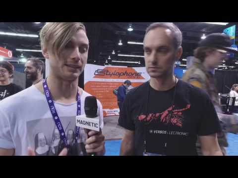 NAMM 2017   Verbos Electronics Modular Synth