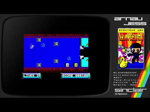 BLIMPGEDDON Zx Spectrum by UltraNarwhal