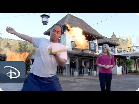 Learning Fireknife at 'Festival of the Lion King' | Disney's Animal Kingdom - UC1xwwLwm6WSMbUn_Tp597hQ
