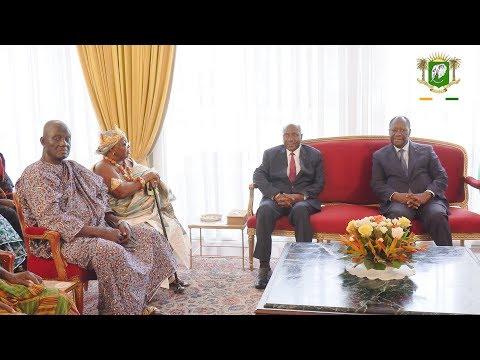 Entretien du Président avec une délégation du  Royaume Djuablin