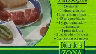 dieta para estar en la zona del dr barry sears zone diet