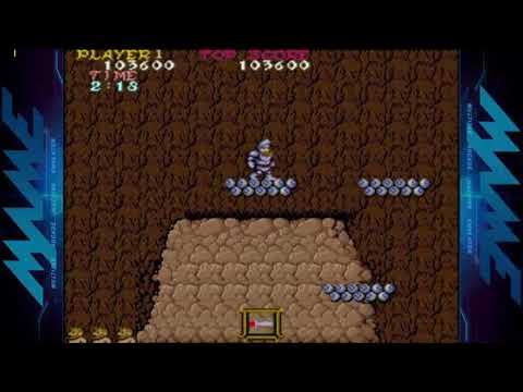 #110 Ghosts´n Goblins-Arcade:One Credit Clear (2 LOOPS).
