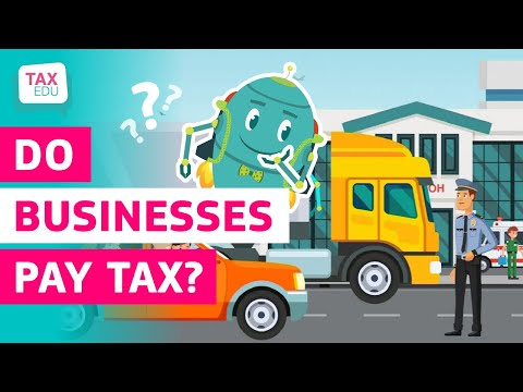 Do businesses pay tax? photo
