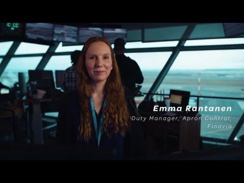 Finavia on lentoasemayhtiö, joka johtaa ja kehittää 21:tä lentoasemaa eri puolilla Suomea. Lentoasemien ainutlaatuisessa, kansainvälisessä ja jatkuvasti kehittyvässä toimintaympäristössä tarvitaan nyt ja tulevaisuudessa paljon erilaista osaamista. Katso Emman tarina.