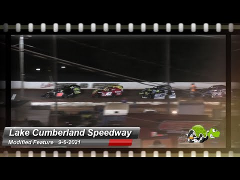 Lake Cumberland Speedway - Modified Feature - 9/6/2021 - dirt track racing video image