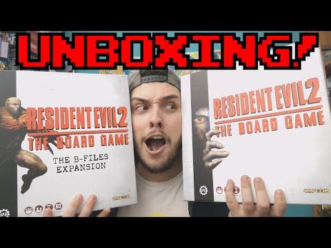Resident Evil 2: El juego de mesa || UNBOXING