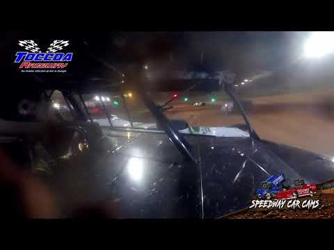 #12 Michael Smith - 602 Late Model - 9-5-21 Toccoa Raceway - In-Car Camera - dirt track racing video image