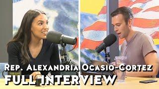 Rep. Alexandria Ocasio-Cortez full interview | Pod Save America