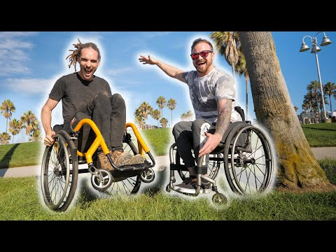 Day In A Wheelchair Challenge  (I Crash A Lot)