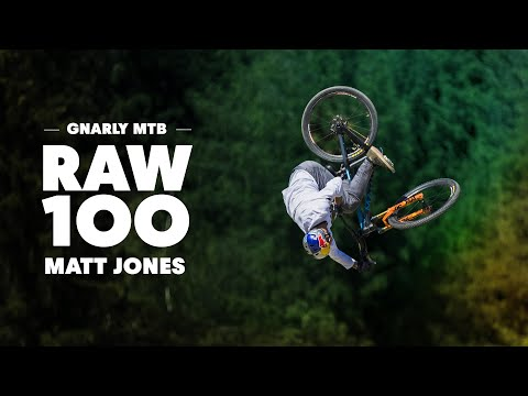 100 seconds of the gnarliest ever MTB course with Matt Jones. | Raw 100 - UCblfuW_4rakIf2h6aqANefA