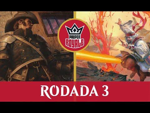 Mono Red Burn VS White Weenie - Pauper Royale 3.09 - Rodada 3