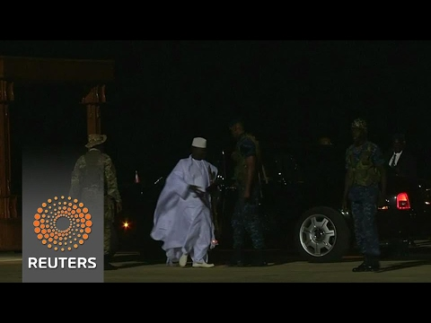 Gambians return home, celebrate Jammeh exit