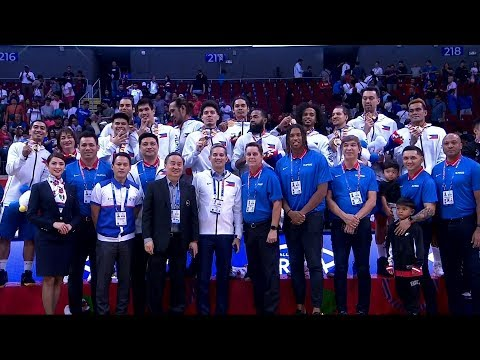 Men's Basketball Awarding | 2019 SEA Games
