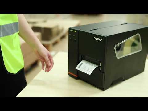 TJ-4020TN & TJ4120TN - industrielle TJ-labelprintere