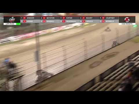 09.25.21 4-Crown Nationals   USAC Midgets - dirt track racing video image