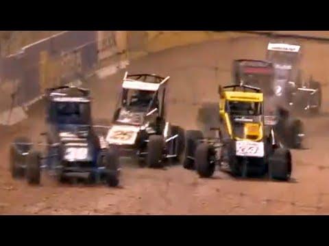 Midget Feature   Western Springs Speedway 3.27.2021 - dirt track racing video image
